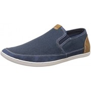 Steve Madden Men's Foleeo Blue Loafers and Moccasins - 8 UK/India (41.5 EU)(8.5 US)