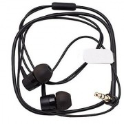 New 3.5mm MH755 Earphone for Sony SBH20 SBH50 SBH52 Bluetooth (Short Cable Without Mic) - Black Colour
