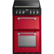 Stoves Richmond 550DFW Hot Jalapeno Dual Fuel Cooker - Red