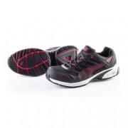 PUMA Chaussures de Sécurité Basse PUMA Motion Protect 64.254.0 Fuse Motion Low S1P HRO SRA Noir / Rouge