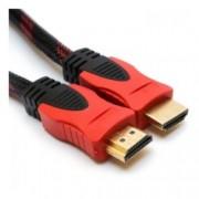 Кабел Digital One SP00066, от HDMI(м) към HDMI(м), 20m, твърда оплетка, черен