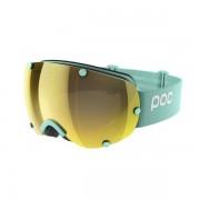 POC Lobes Skibrille - Tin Blue/Clarity Spektris Gold