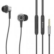 Слушалки Devia T1 Acorn, микрофон, управление на звука, за мобилни устройства, черни