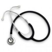 Stetoscop Little Doctor LD Prof II stetoscop metalic utilizabil pe ambele parti diafragma mica Negru Inox