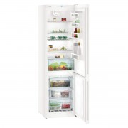 Combina frigorifica Liebherr DNH 48X13, 338 L, No Frost, Display, Control taste, Alarma, H 201.1 cm, A+++, Alb