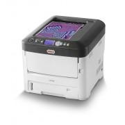 Oki C712dn - Impressora - a cores - Duplex - LED - A4 - 1200 x 600 ppp - até 36 ppm (mono)/ até 34 ppm (cor) - capacidade: 630