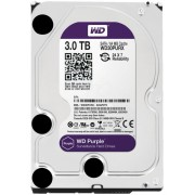 "HDD 3.5"", 3000GB, WD Purple AV, 64MB Cache, SATA3 (WD30PURX)"