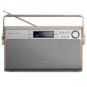 Портативно радио Philips AE5220, ретро дизайн, DAB+, цифров FM тунер