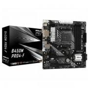 Asrock AMD AM4 B450M PRO4-F ASR-B450M PRO4-F-RMA
