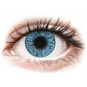 Sapphire Blue contact lenses - FreshLook Colors - Power