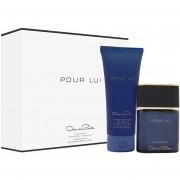 Pour Lui For Man Oscar De La Renta Eau de Toilette 90 ml + Hair and Body Wash