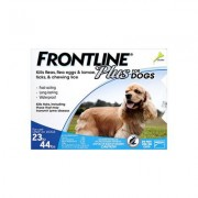 Frontline Plus For Medium Dogs 23-44 Lbs (Blue) 3 Months
