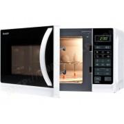 Sharp R-642(W)W - four micro-ondes grill - pose libre - blanc