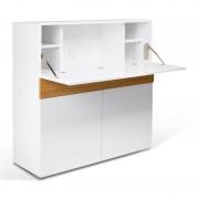 Tema Home Design secretaire mat wit met eiken