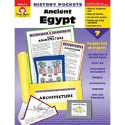 Ancient Egypt Grade 4-6+, Paperback/Evan-Moor Educational Publishers
