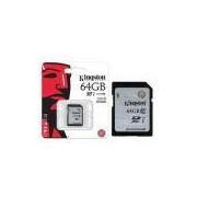 Cartao De Memoria Classe 10 Kingston Sd10vg2/64gb Secure Digital Sdxc 64gb Uhs-I