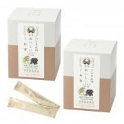 ハンさんのくわ茶 玄米黒豆Plus 120包【QVC】40代・50代レディースファッション