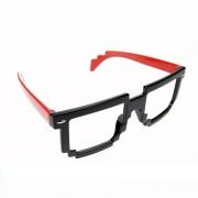 Ochelari POIZEN INDUSTRIES - 8 Bit Shades - Black / Red