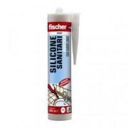 Fischer Silicone Acetico Sanitari Fischer Bianco