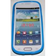 Силиконов гръб ТПУ за Samsung I8190 Galaxy S III mini Син