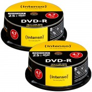 Intenso DVD-R 4.7GB 16x printable, 50er-Spindel