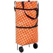 Zakheza 2 Wheel Shopping Trolley, Lightweight Folding Travel Bag Trolley(Multicolor)