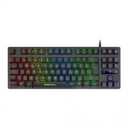 Teclado Mars Gaming MKTKL Iluminado RGB - H-Mechanical Red (PT)
