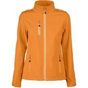 Printer Softshell Jas Vert Lady 2261050 Oranje - Maat XL