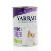 Yarrah Kat kip kalkoen in saus 405g