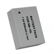 Canon NB-10L batteri till PowerShot SX40, G1X 7,4V 920mAh Li-ion
