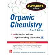 Schaum's Outline of Organic Chemistry: 1,806 Solved Problems + 24 Videos, Paperback/Herbert Meislich