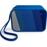 Boxa Portabila Philips PixelPop BT110A, Bluetooth, 4 W, IPX 4 (Albastru)