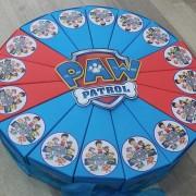Paw patrol torta od kartona
