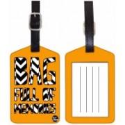 Nutcaseshop BAG MEMORIES Luggage Tag(Multicolor)