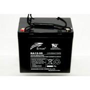 RA12-55 12V 55 Ah Zárt ólomzselés akkumulátor (RITAR)