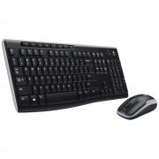 Logitech MK270 toetsenbord RF Draadloos QWERTY Tsjechisch, Polijsten, Turks Zwart, Zilver