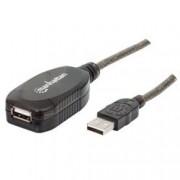 Manhattan Cavo Prolunga Attivo USB 2.0 Hi-Speed 10 mt
