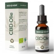 Biologische CBD Olie Puur 10% 30ml MediHemp