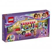 LEGO Friends pretpark hotdogwagen 41129
