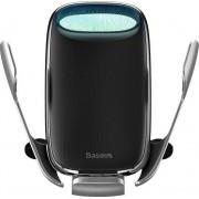 Suport Auto cu incarcare Wireless Baseus Milky Way (15W) - Silver