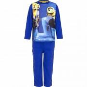 Minions fleece pyjama blauw voor jongens