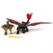 DreamWorks Dragons, Dragon Riders,Hiccup & Toothless Figures