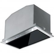 Hota incorporabila Franke Box Plus Glass FBI 537 XS/BK 305.0528.070, Tip caseta, Capacitate 660 m3/H (intensiv, mod evacuare), 3 viteze+intensiv, Putere 250 W, Latime 52 cm, Inox/Finisaj cristal negru