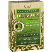 Dr. Jacobs Naturals Bar Soap - Castile - Eucalyptus - 6.5 oz