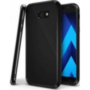 Husa Ringke Fusion Samsung Galaxy A7 2017 A720 Negru + BONUS folie protectie display Ringke