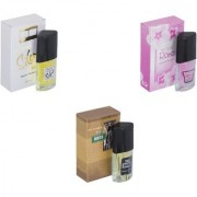 Skyedventures Set of 3 Silent Love-Rose-The Boss Perfume