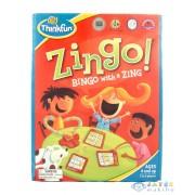 Zingo! - A Társasjáték Angol Nyelven (Thinkfun, K-7700E)