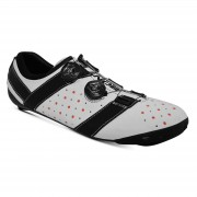 Bont Vaypor + Road Shoes - EU 48 - White/Black
