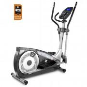 Bicicleta Elíptica NLS18 Dual Plus Bh Fitness + Dual Kit BÊ: Excelente Ergonomía