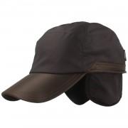 Wigens Hochwertige Baseball-Cap aus Baumwolle und Leder marine XXL